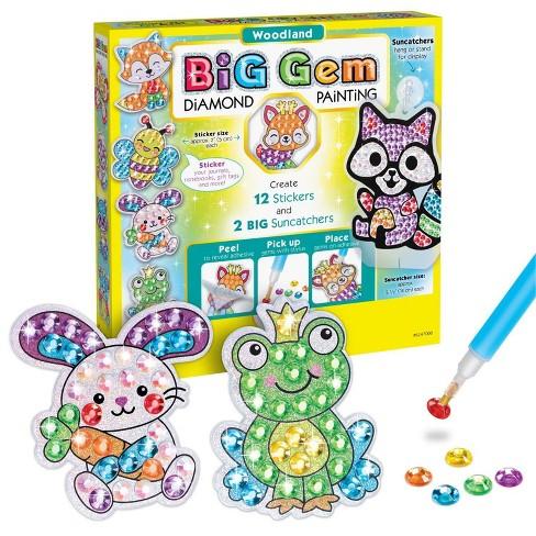 Creativity for Kids Big Gem Diamond Painting Kit - Woodland - image 1 of 4