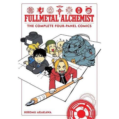 Fullmetal Alchemist: The Complete Four-Panel Comics - by  Hiromu Arakawa (Paperback) - image 1 of 1