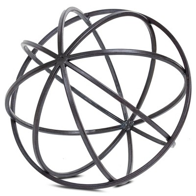 Tabletop Metal Orb Small (6.3 x5.91 x6.3 )