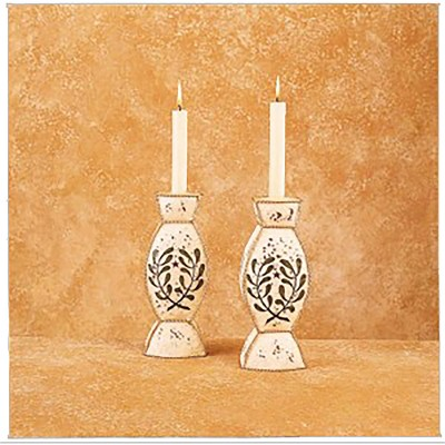 Gallerie II Cottage Metal Candle Holder