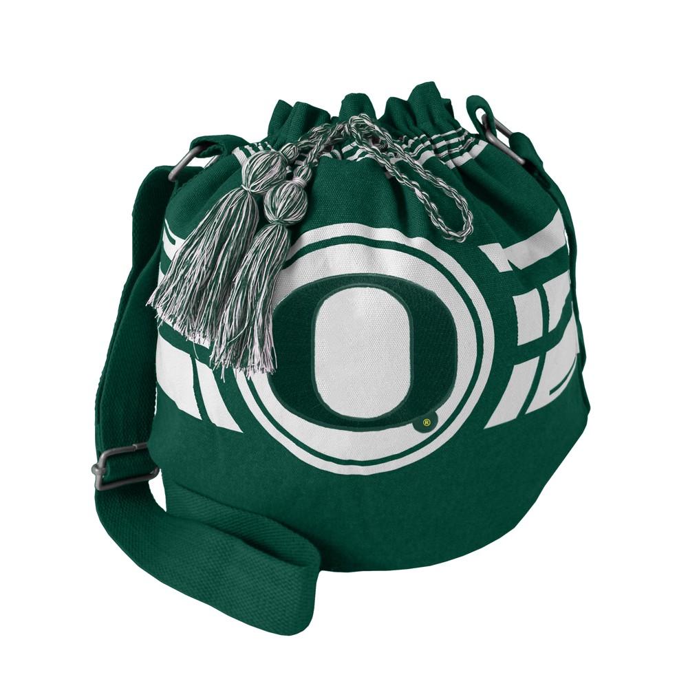 NCAA Oregon Ducks Little Earth Ripple Drawstring Bucket Bag, Adult Unisex