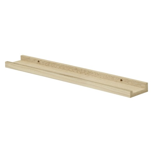 """Floating Wall Shelf 24"""" - Brown - image 1 of 3"""