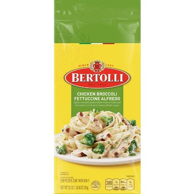 Bertolli Frozen Chicken Broccoli Fettuccine Alfredo - 22oz