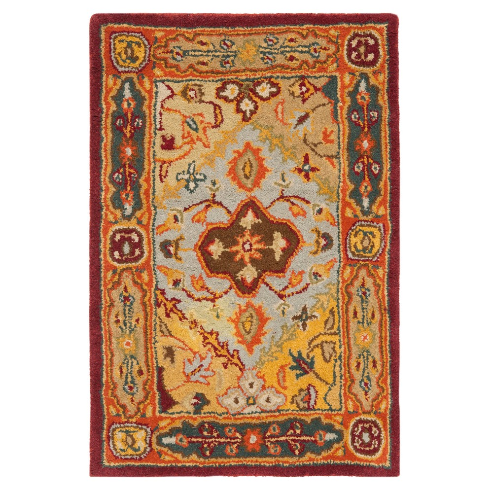 2 39 X3 39 Floral Tufted Accent Rug Safavieh