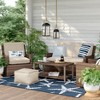 Halsted Wicker Patio Loveseat - Threshold™ - image 2 of 4