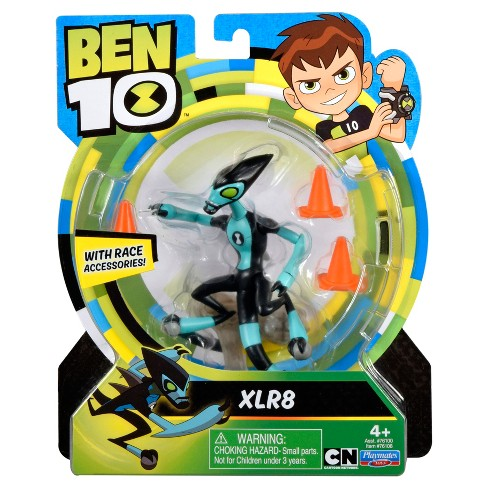 Ben 10 XLR8 Basic Action Figure Shop All