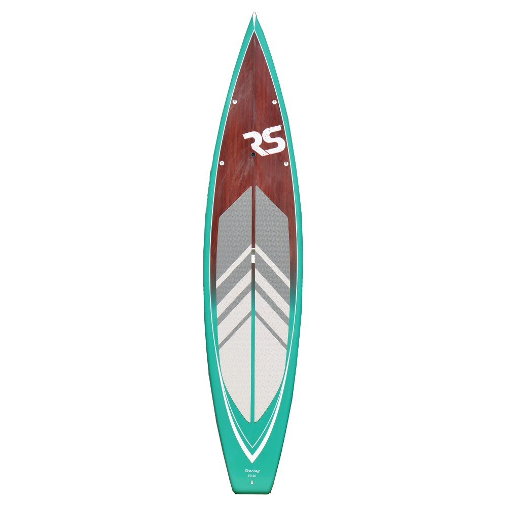 Rave Sports Touring Emerald Paddle Board - 12' X 6, Multi-Colored