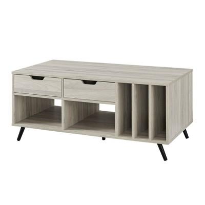 "44"" 2 Drawer Storage Coffee Table - Saracina Home"