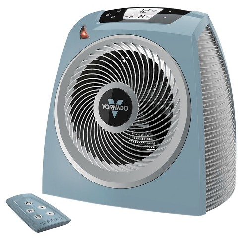 Vornado TAVH10 Vortex Indoor Heater with Remote Blue 1500W EH1-0097-71 - image 1 of 7