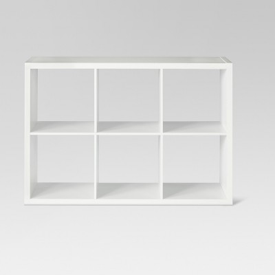 6-Cube Organizer Shelf White 13  - Threshold™