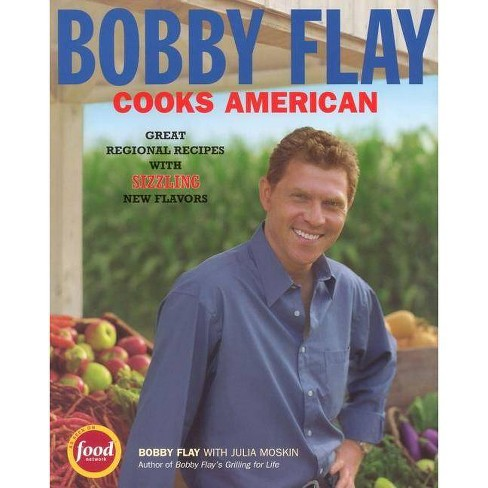 Bobby Flay Cooks American - by  Bobby Flay & Julia Moskin (Paperback) - image 1 of 1