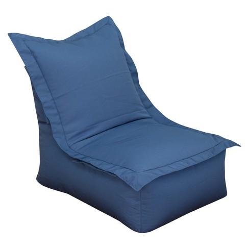 Outdoor Bean Bag Lounger Blue Ace Bayou