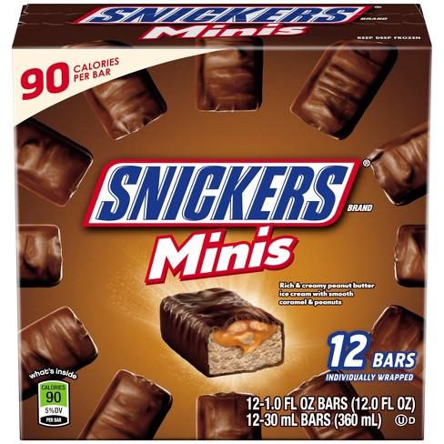 snickers mini ice cream bars 12ct target