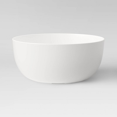 147oz Plastic Serving Bowl Cream - Made By Design™