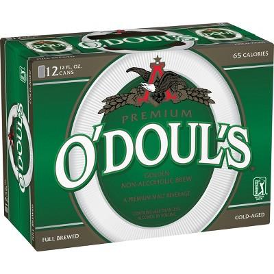 O'Doul's Premium Non-Alcoholic Beer - 12pk/12 fl oz Cans