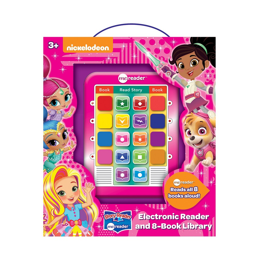 Nickelodeon Electronic Me Reader 8-book Boxed Set -Pink