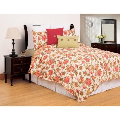 C&F Home Alyssa Floral Quilt Set