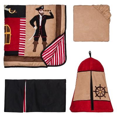 Sweet Jojo Designs 11pc Pirate Treasure Crib Set