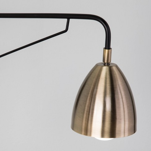 Masefield Wall Mounted Reading Light Golden Bronze Lamp Only Aiden Lane Target