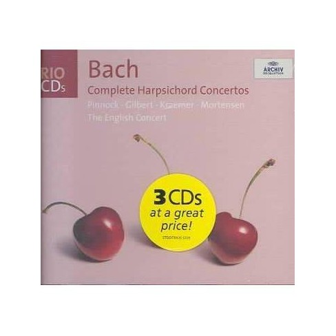 Bach: Complete Harpsichord Concertos (CD) - image 1 of 1