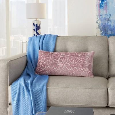 Luminescence Metallic Zebra Throw Pillow - Mina Victory : Target