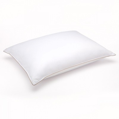 Downlite Soft White Goose Down Hypoallergenic Pillow – Perfect for Stomach Sleepers Standard
