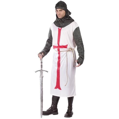 Men's Templar Knight Costume - image 1 of 3
