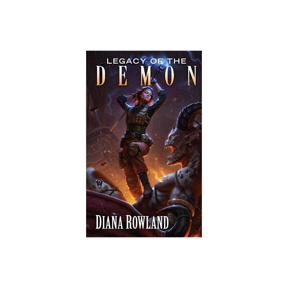 Legacy Of The Demon Kara Gillian By Diana Rowland Paperback