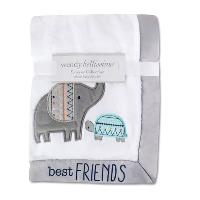 Wendy Bellissimo Best Friends Elephant Blanket