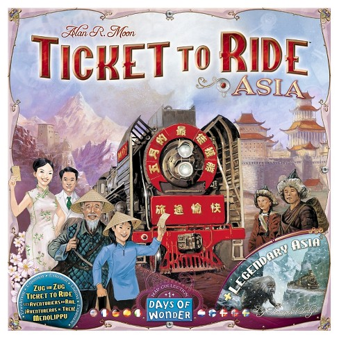 Days of Wonder Ticket to Ride: Asia Map Collection 1 Board Game - image 1 of 1
