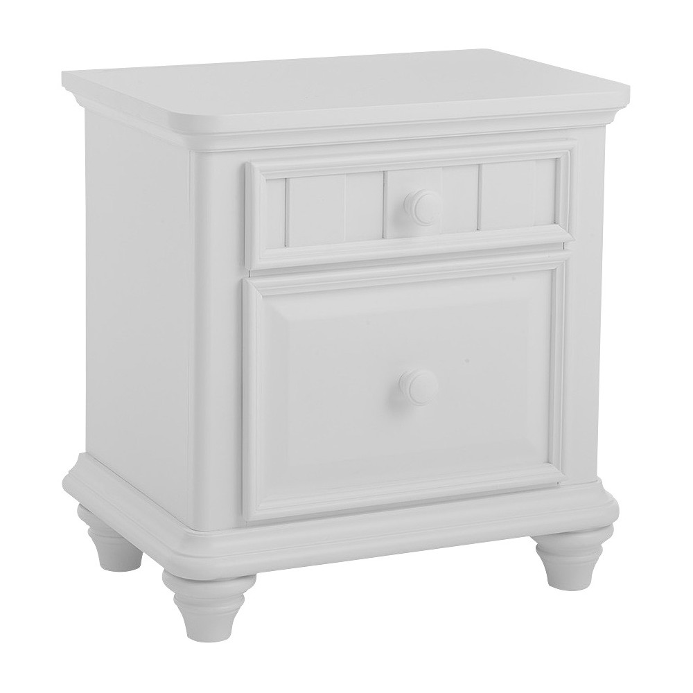Summertime Kids Nightstand White - Right2Home