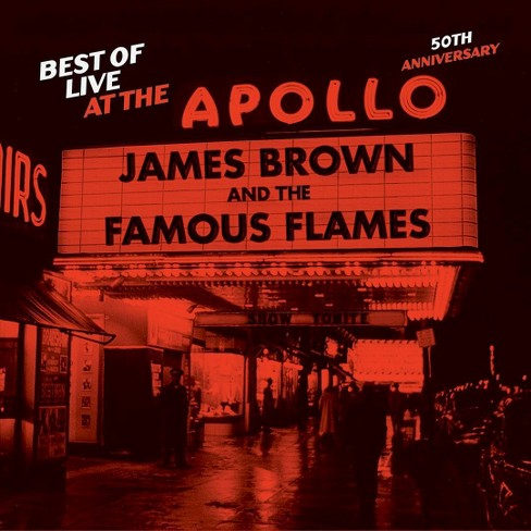 James Brown - Best Of Live At The Apollo:50th Anniv (CD) - image 1 of 1