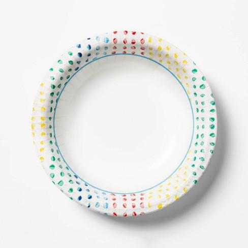 Dots Printed Paper Bowl - 42ct - Up&Up™ - image 1 of 2
