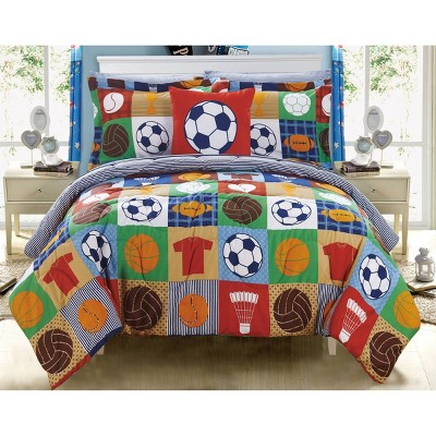 8pc Full Leon Bed In A Bag Comforter Set Color - Chic Home Design