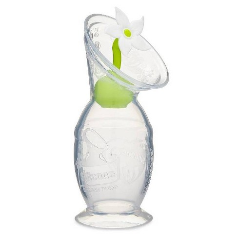 Haakaa Breast Pump with Suction Base and White Flower Stopper - 5oz - image 1 of 4