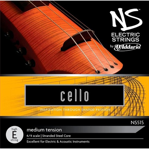 D'Addario NS Electric Cello High E String - image 1 of 2