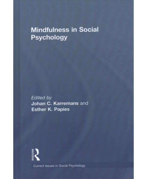 Mindfulness in Social Psychology (Hardcover) - image 1 of 1