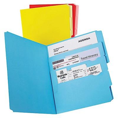 Pendaflex Divide it Up File Folder, Multi Section, Letter, Assorted, 12/Pack