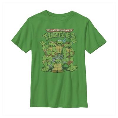 Boy's Teenage Mutant Ninja Turtles Best Friend Shot T-Shirt