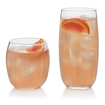 Libbey Samba Assorted 16pc Glass Drinkware Set