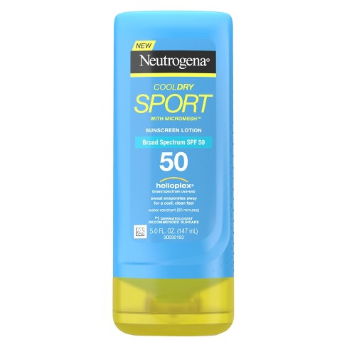 Neutrogena® Cooldry Sport Sunscreen Lotion Broad Spectrum - SPF 50 - 5 fl oz - image 1 of 3