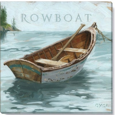 Sullivans Darren Gygi Rowboat Canvas, Museum Quality Giclee Print, Gallery Wrapped, Handcrafted in USA