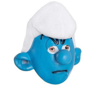 Smurfs Grouchy Smurf Adult Mask