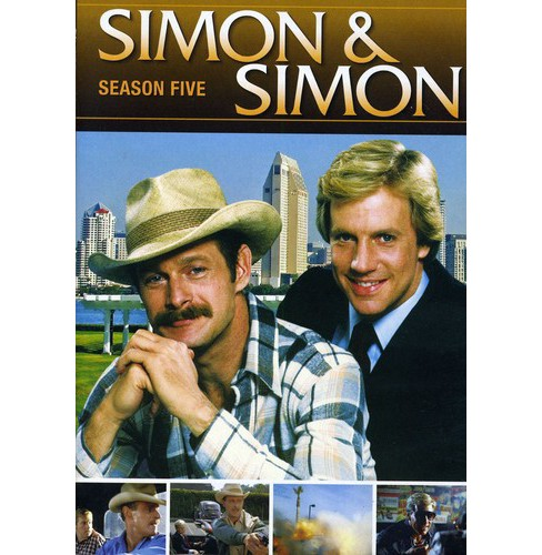 Simon & Simon:Season Five (DVD) - image 1 of 1