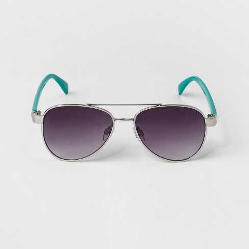Kids' Sunglasses - Cat & Jack™ Green One Size - image 1 of 2