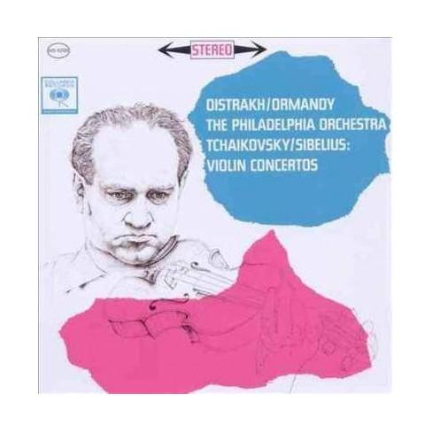 David Oistrakh - Tchaikovsky/Sibelius: Violin Concertos (CD) - image 1 of 1