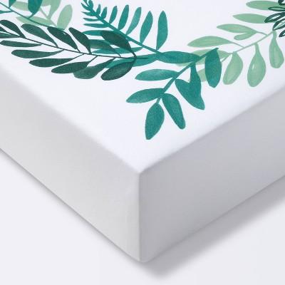 Crib Fitted Sheet - Cloud Island™ White/Green