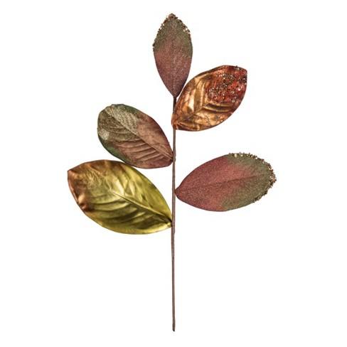 Vickerman Plum Stone Magnolia Leaf Artificial Series - image 1 of 4