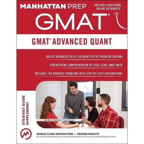 GMAT Advanced Quant - (Manhattan Prep GMAT Strategy Guides)(Paperback)