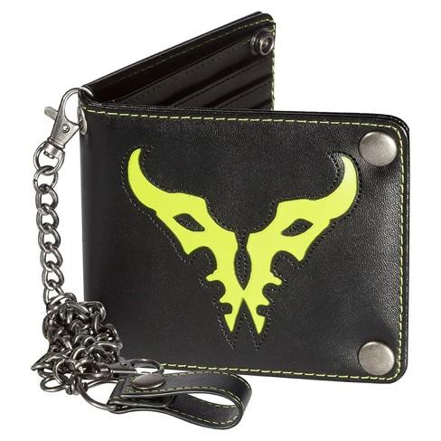 JINX Inc. World of Warcraft Legion Logo Men's Bifold Chain Wallet - image 1 of 1